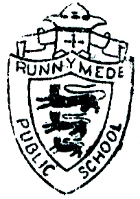 Runnymede's Original School Crest