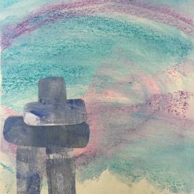 Ted Harrison Inspired Art