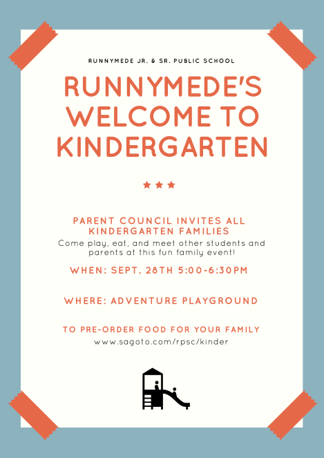 Kinder Welcome Event