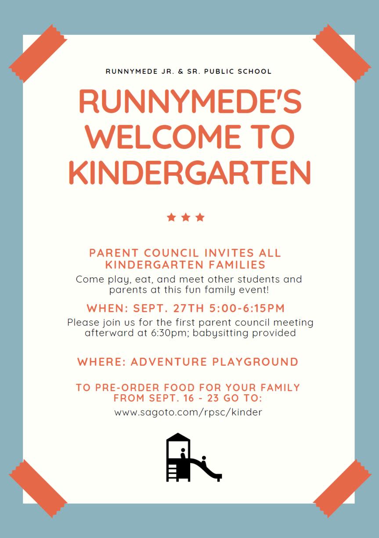 Kinder Welcome Event2018